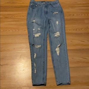 Forever 21 Distressed boyfriend Jeans NWOT